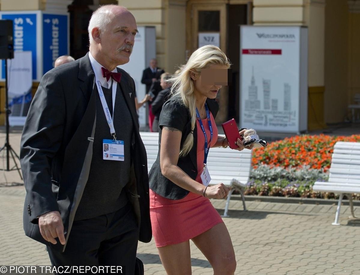 Córka Janusza Korwin-Mikkego zatrzymana przez policję