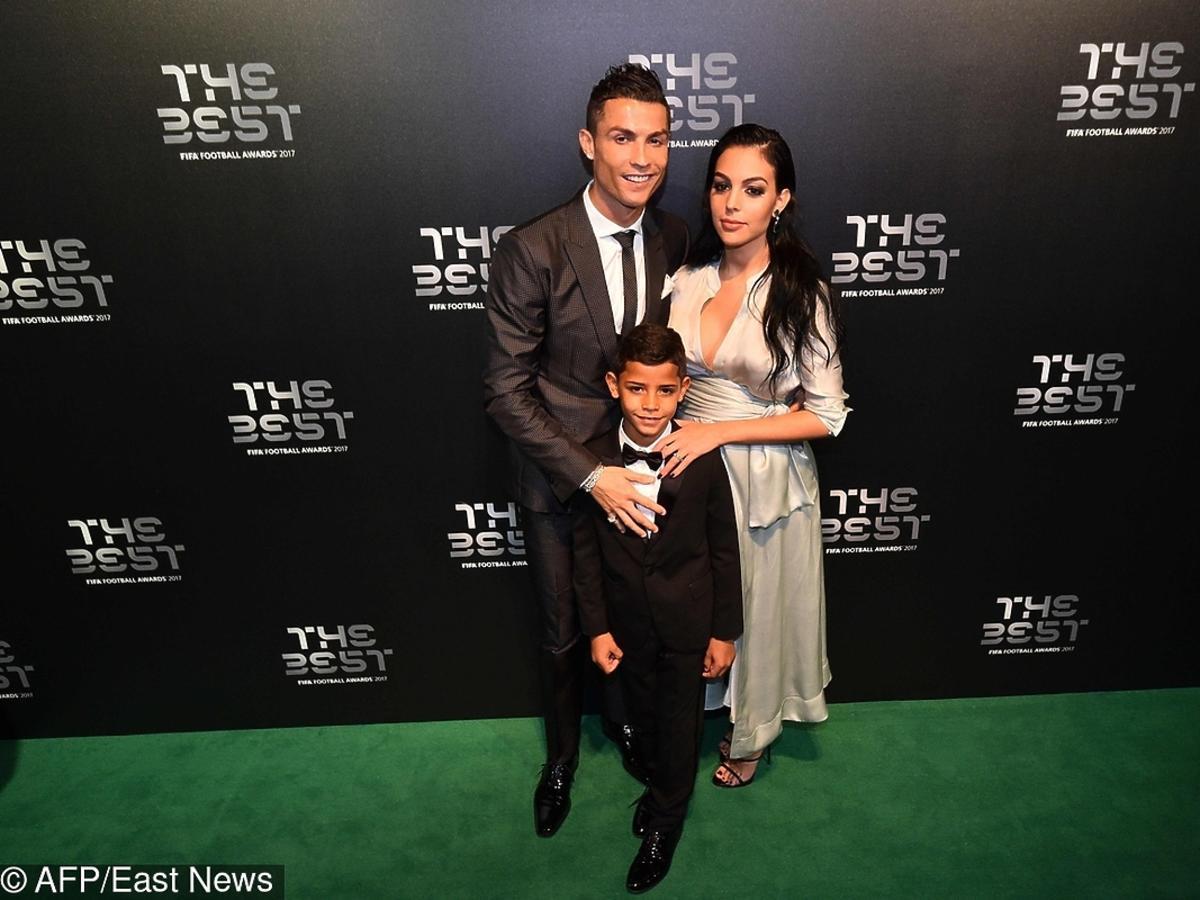 Cristiano Ronaldo, Cristiano Ronaldo Junior, Georgina Rodriguez