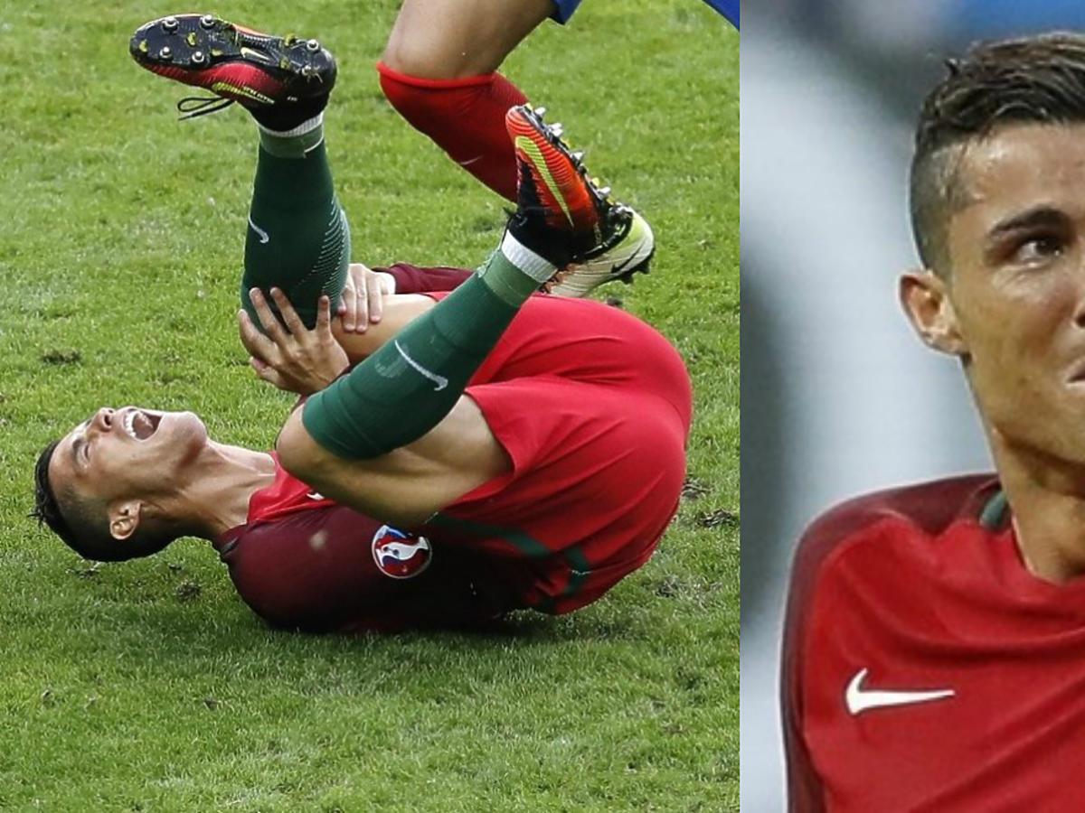 Cristiano Ronaldo - finał Euro 2016