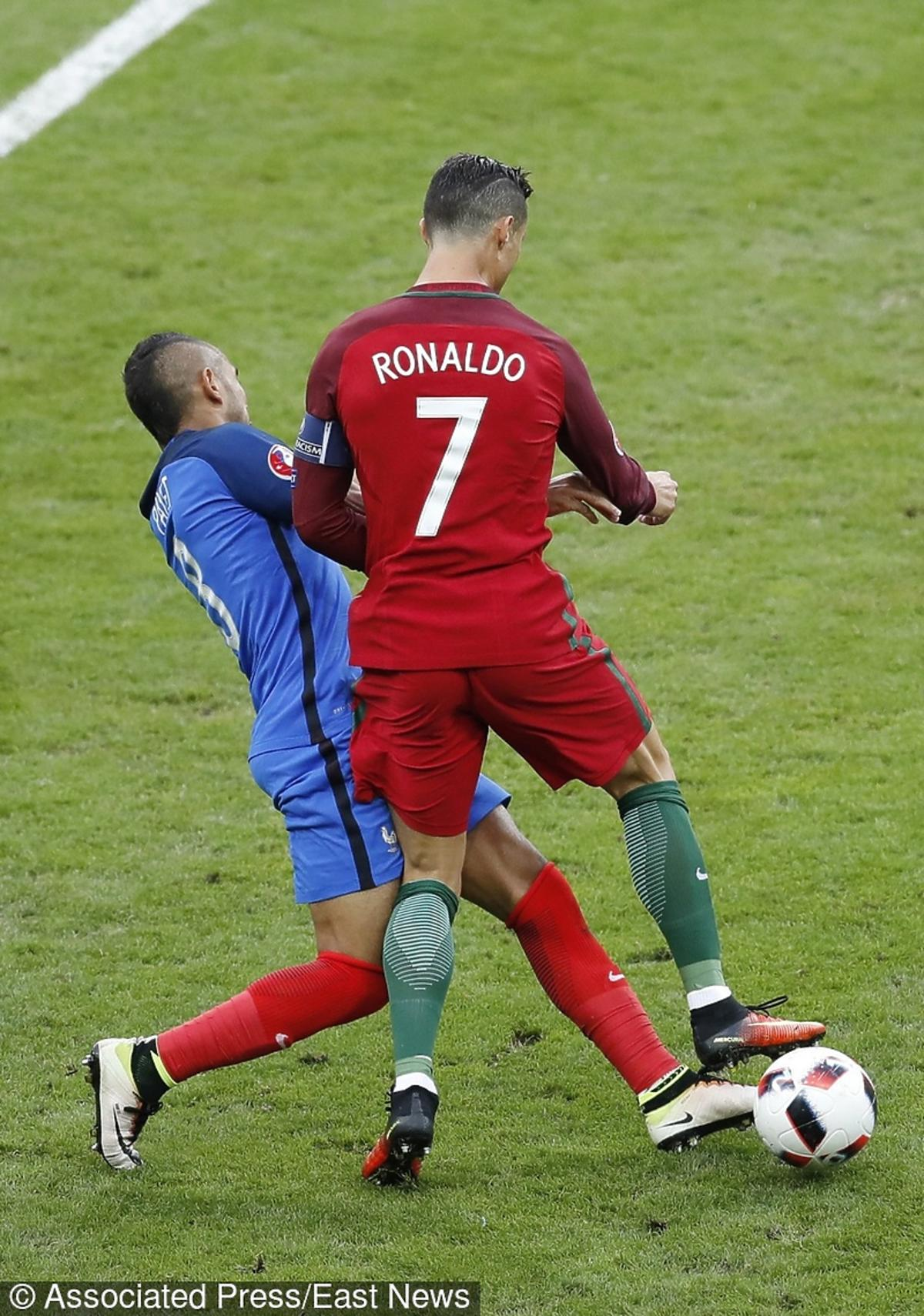Cristiano Ronaldo i Dimitri Payet