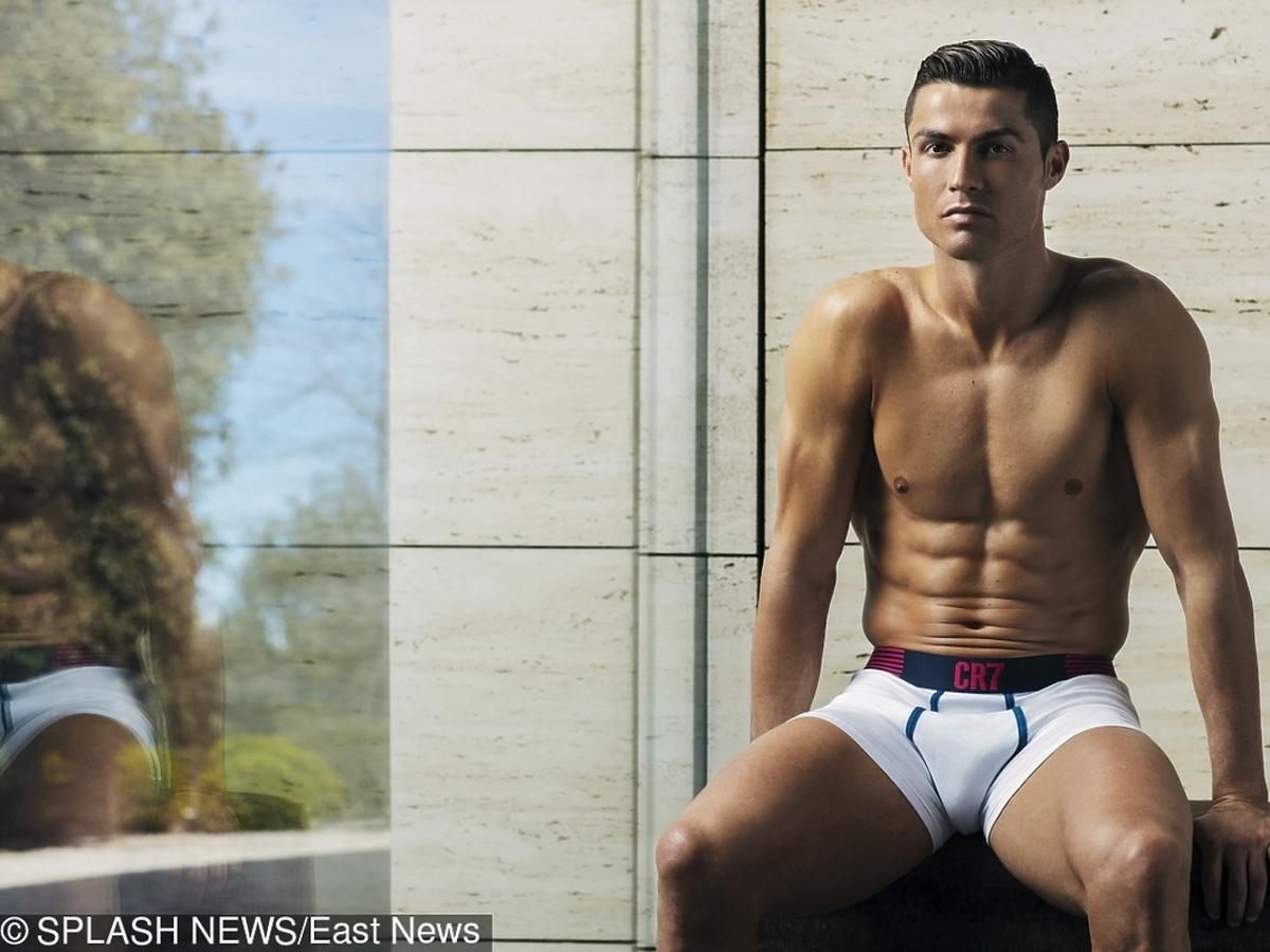 Cristiano Ronaldo promuje swoją bieliznę