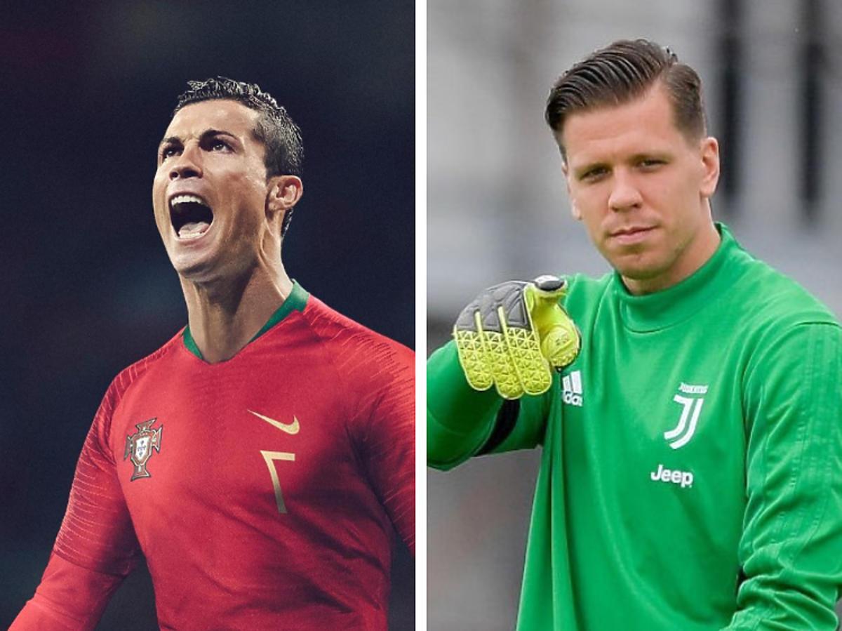 Cristiano Ronaldo vs Szczęsny