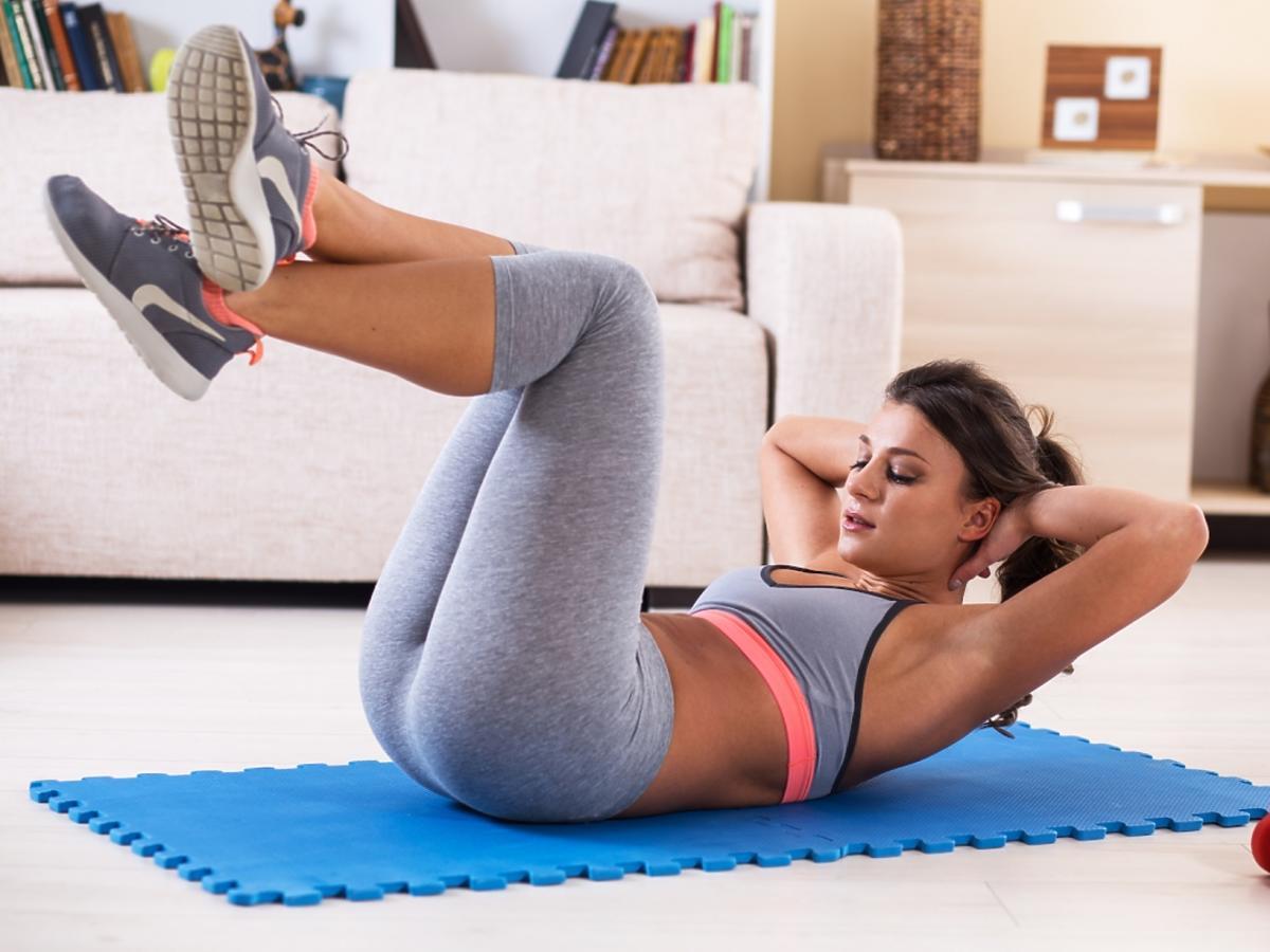 Ćwicząca kobieta