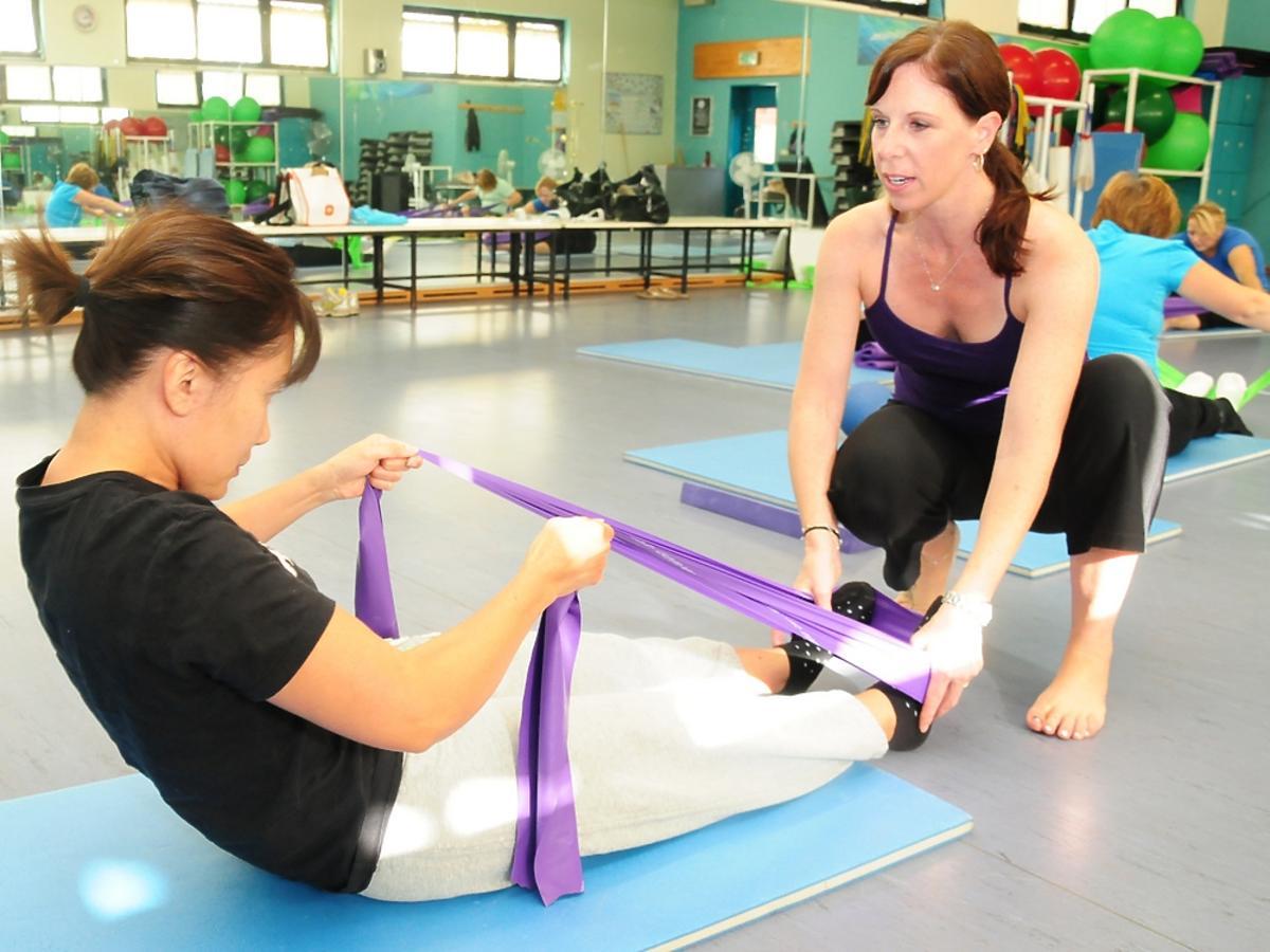 ćwiczenia - pilates