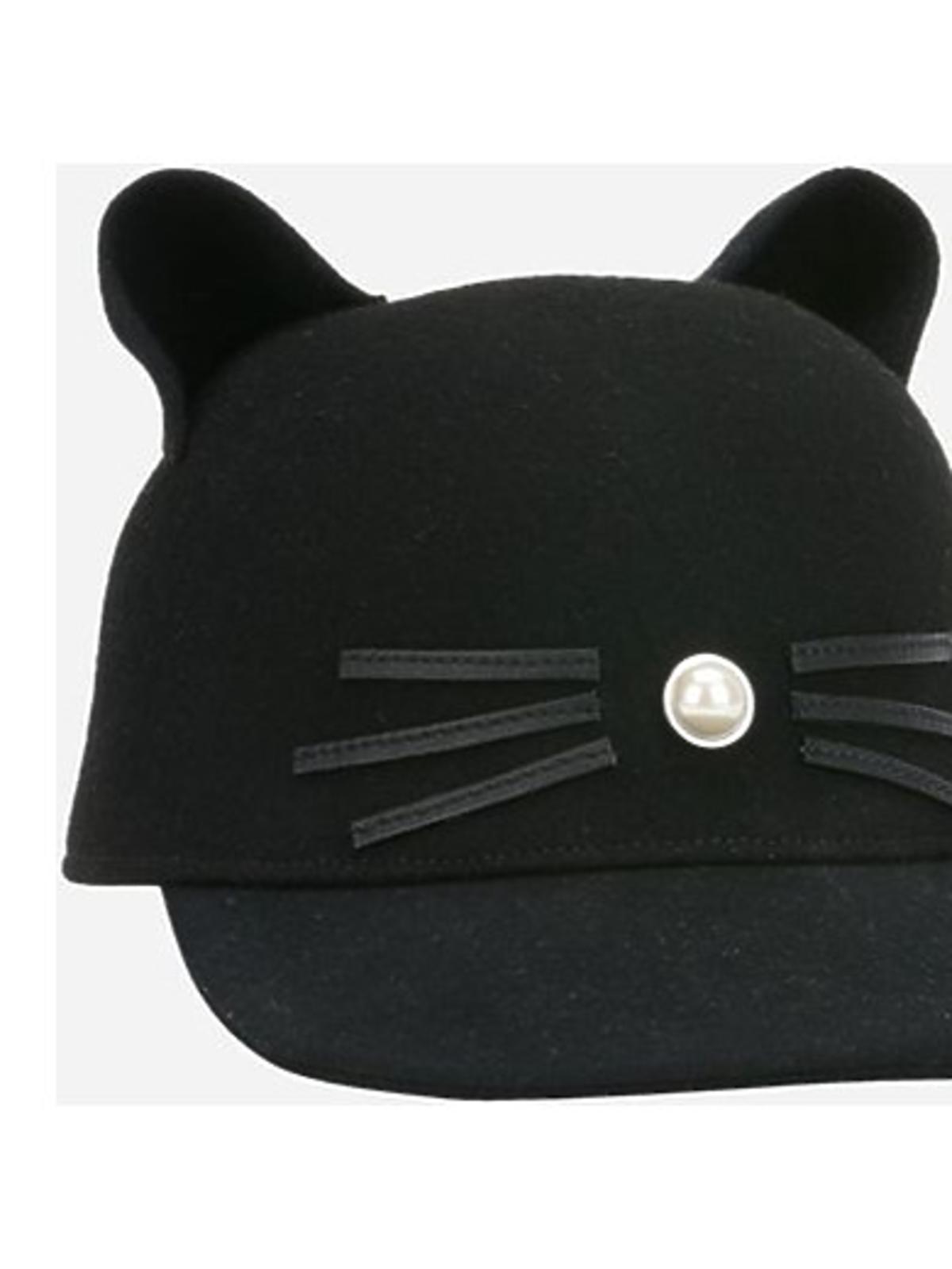 Czapka z uszami Karl Lagerfeld cena 360 zł