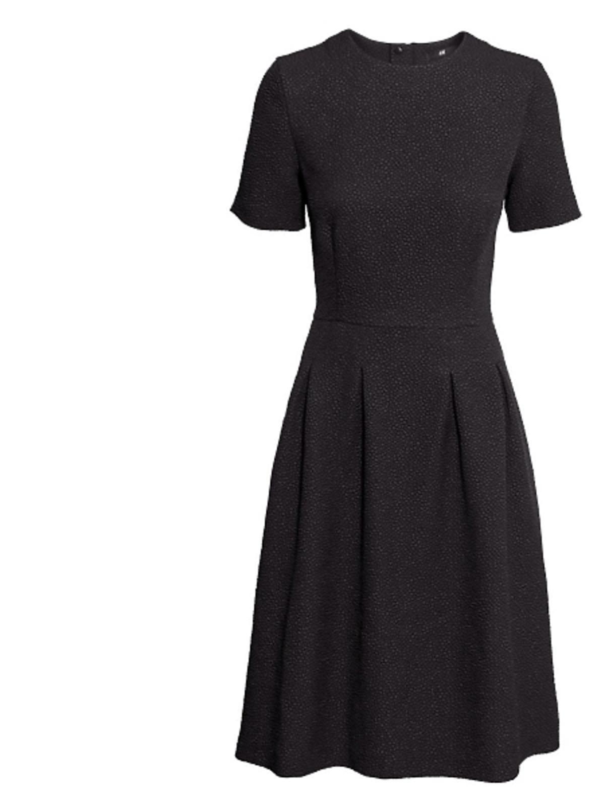 Czarna sukienka H&M, cena