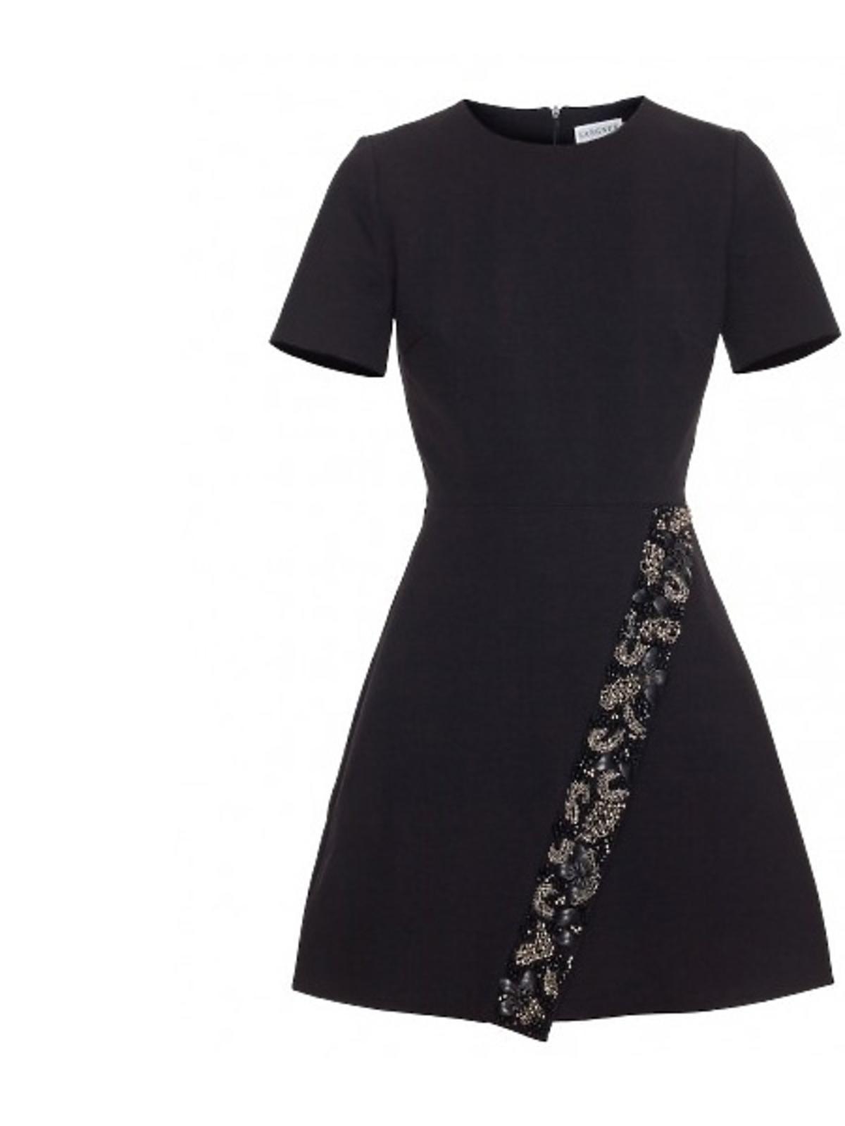 Czarna sukienka Langner, cena