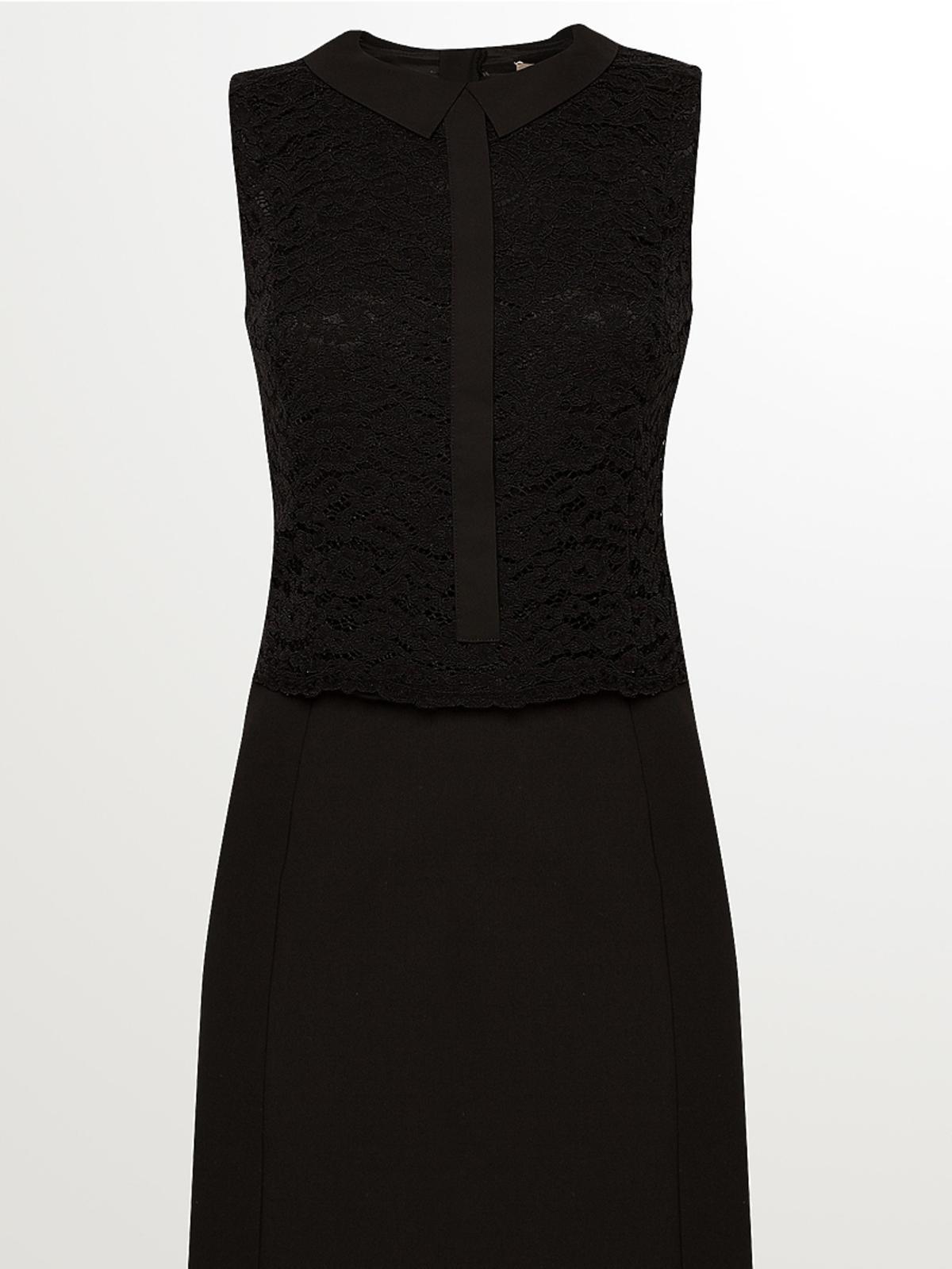 Czarna sukienka, Orsay, przeceniona ze 159,90 zł na 100,00 zł