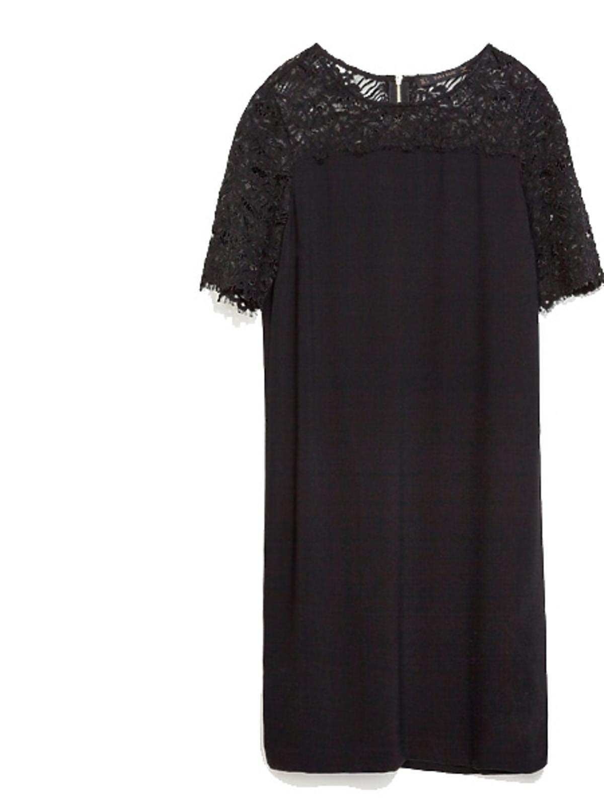 Czarna sukienka Zara, cena