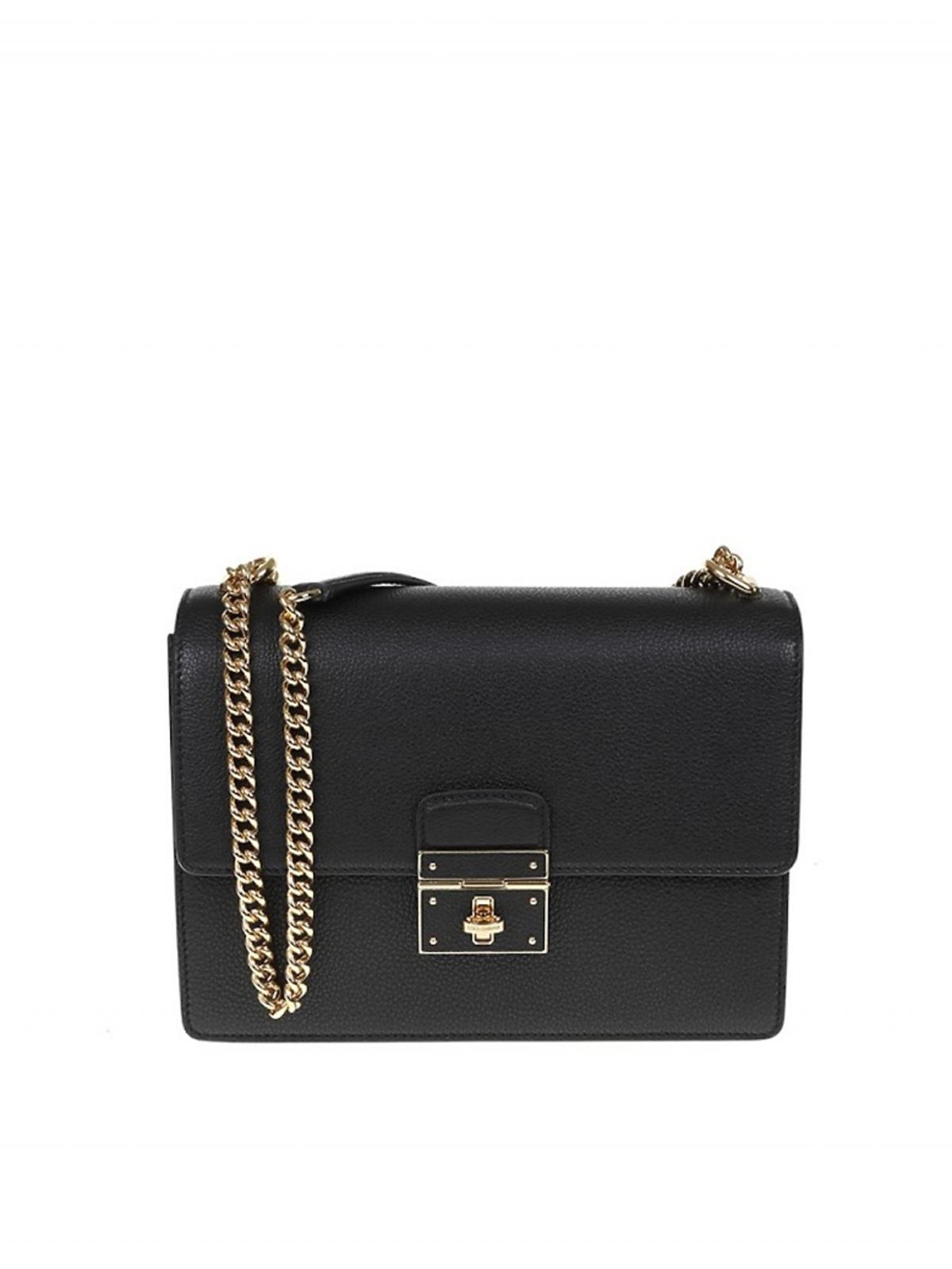 Czarna torebka Rosalia marki Dolce&Gabbana