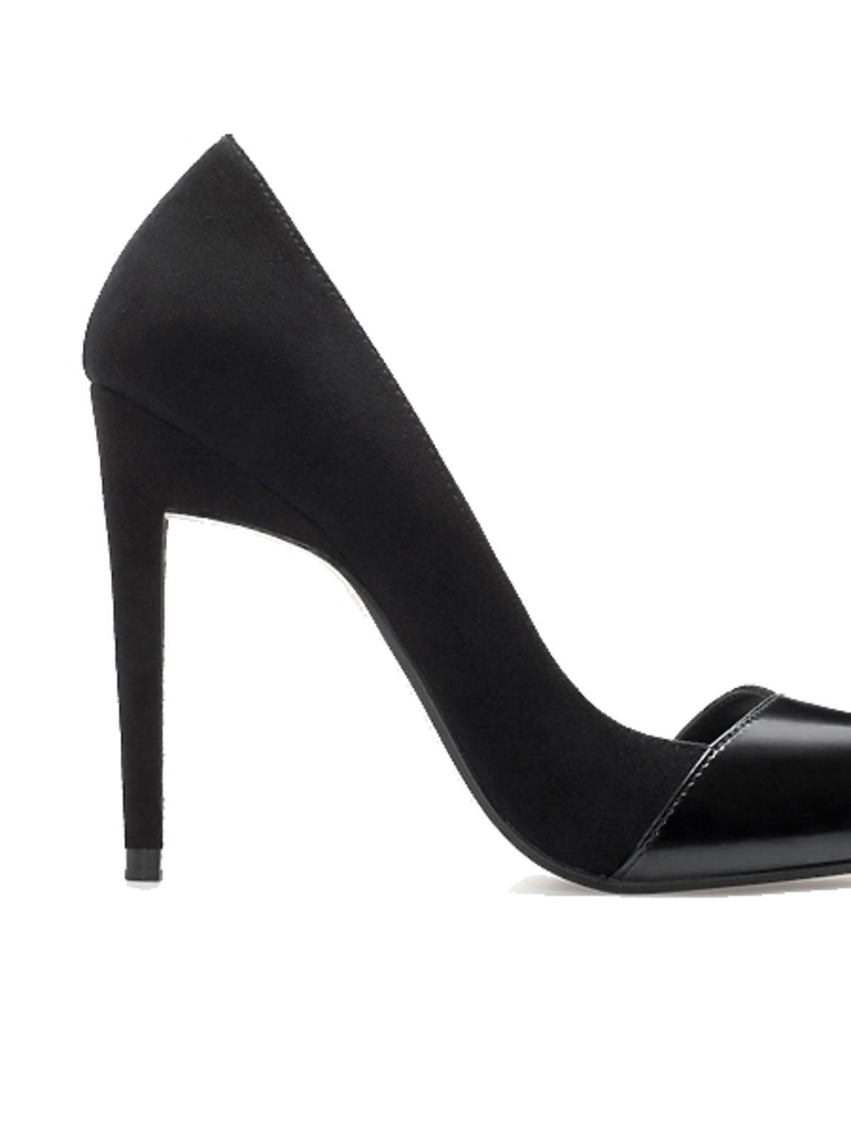 Czarne szpilki Zara, cena