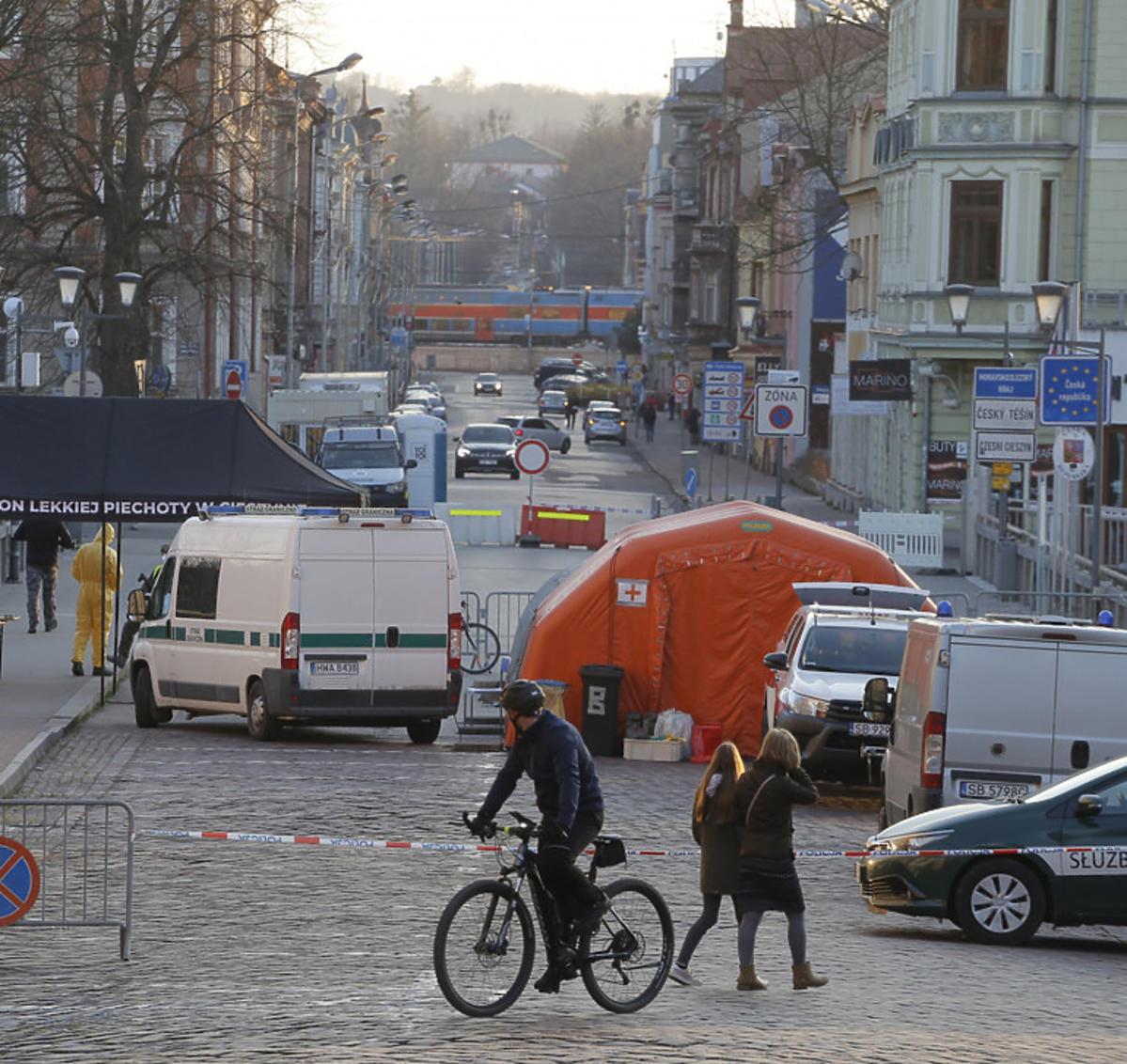 Czechy walczą z koronawirusem, zamknięta granica w Cieszynie