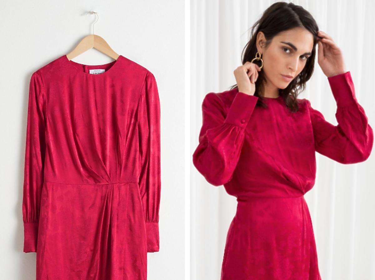 czerwona sukienka krótka retro 7 Other Stories