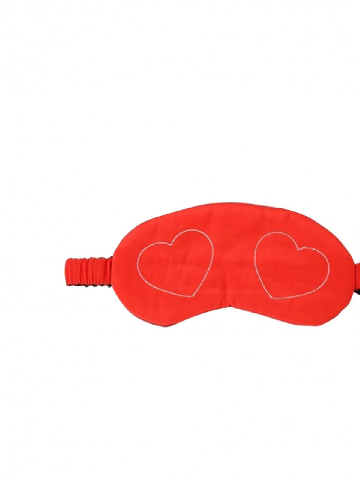czerwone okulary do spania