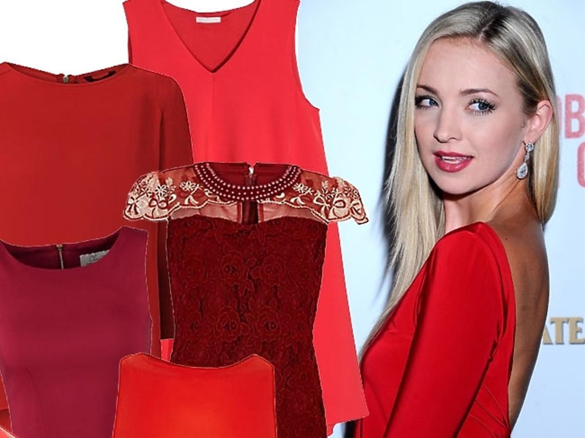 Czerwone ubrania i dodati na Walentynki 2015