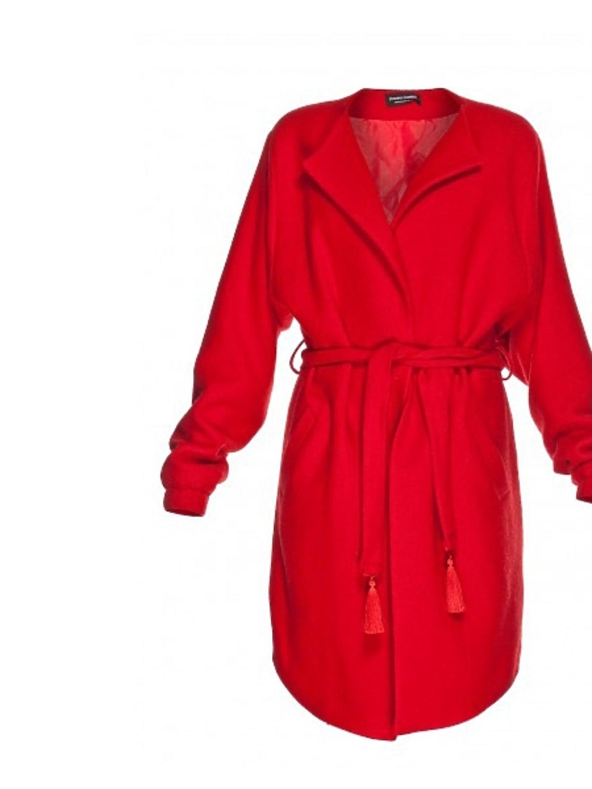 Czerwony płaszcz Joanna Hawrot, cena