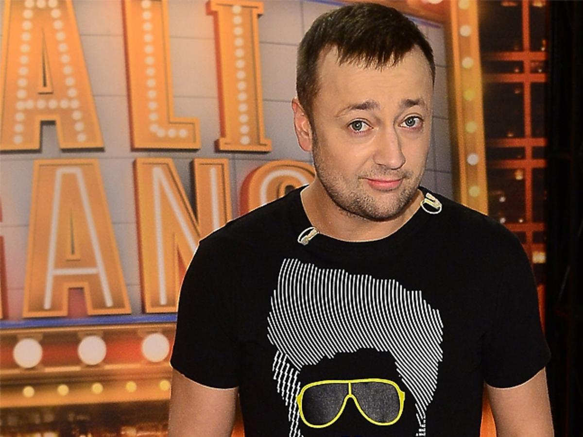 Czesław Mozil w koszulce
