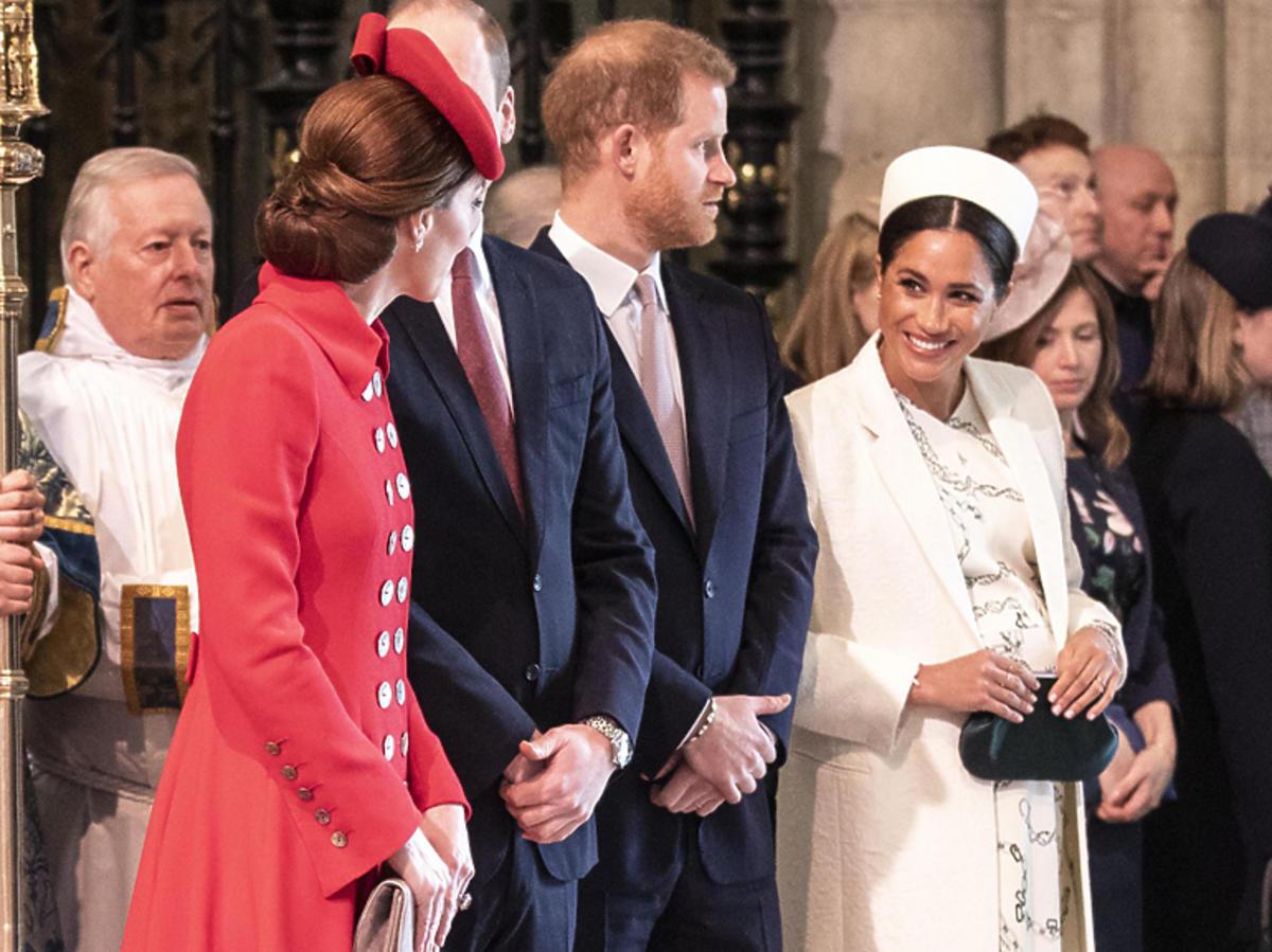 Czułe przywitanie Meghan i Kate