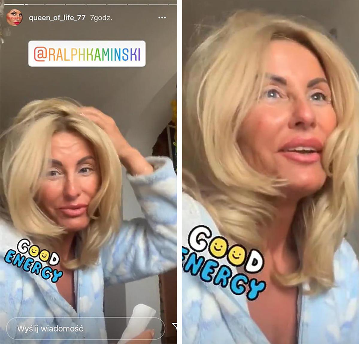 Dagmara Kaźmierska bez makijażu