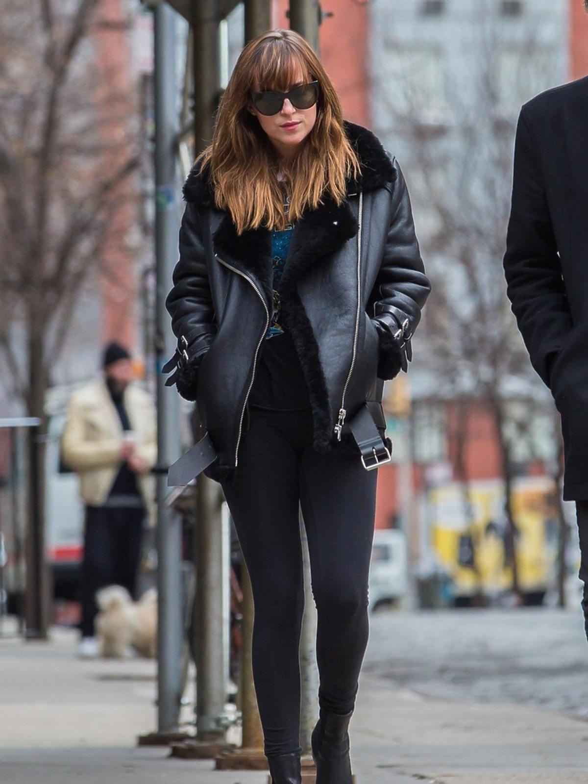 Dakota Johnson - codzienny styl