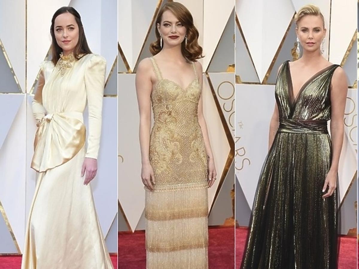 Dakota Johnson, Emma Stone, Charlize Theron, Jessica Biel