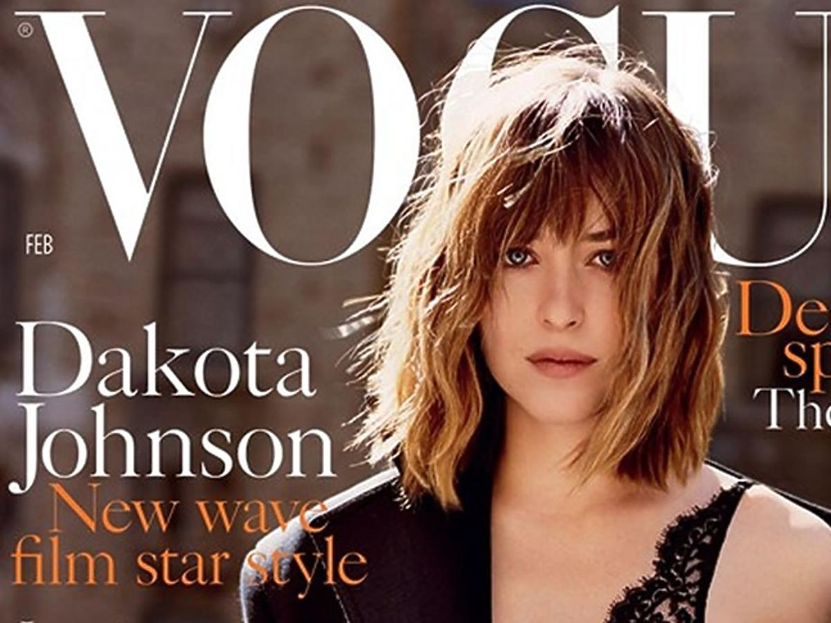 Dakota Johnson na okładce Vogue'a