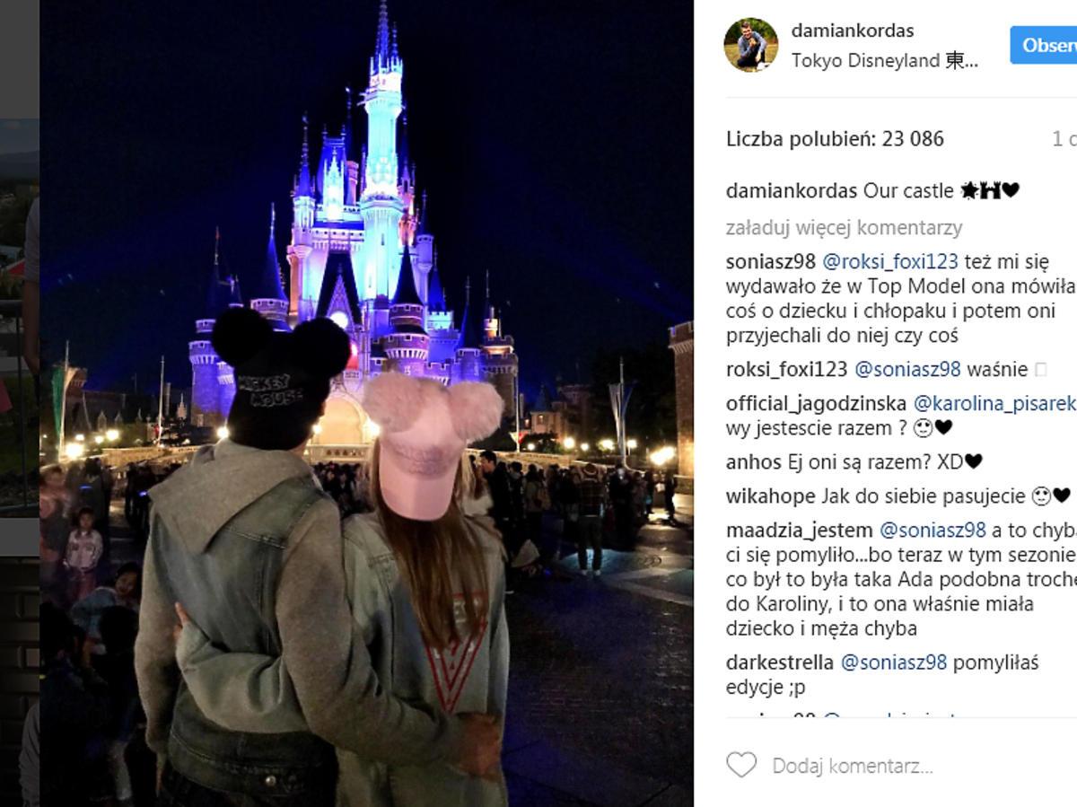 Damian Kordas i Karolina Pisarek są parą