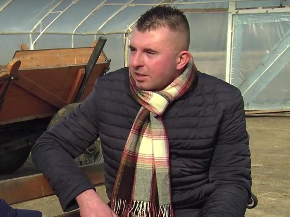 Damian - uczestnik trzeciej edycji Rolnik Szuka żony