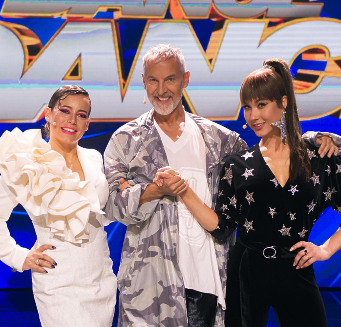 Dance Dance Dance - jury programu razem