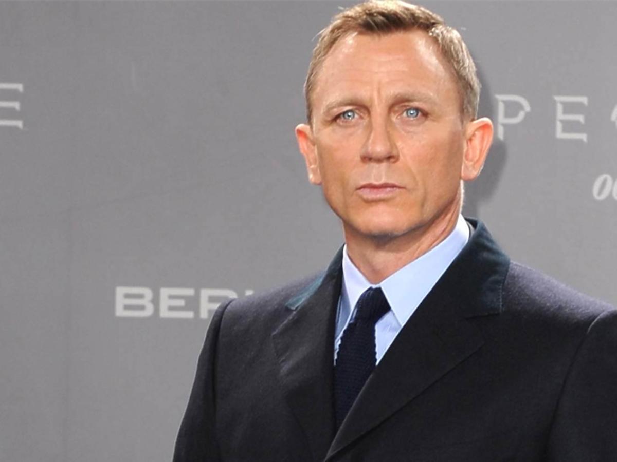 Daniel Craig kolor oczu
