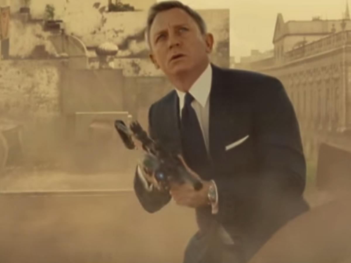 Daniel Craig w garniturze