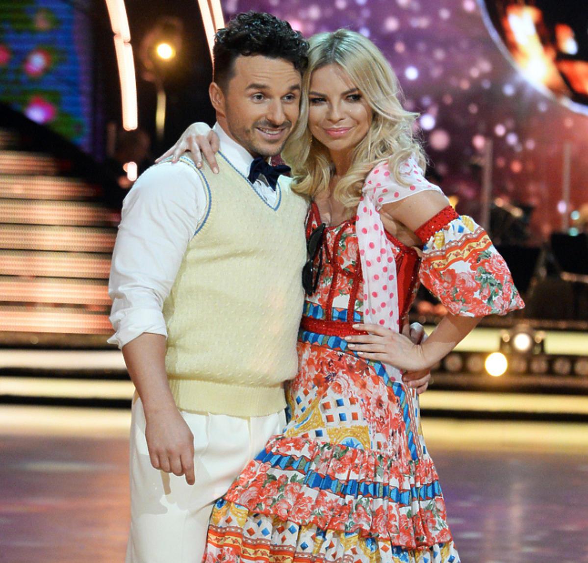 Daniel Kuczaj Qczaj i Paulina Biernat na planie