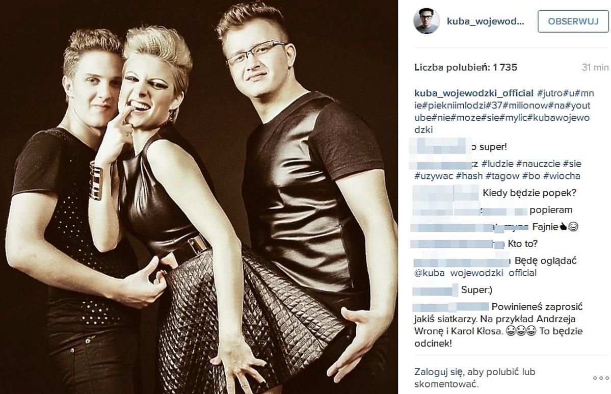 Daniel Wilczewski, Dawid Narożny, Magda Narożna