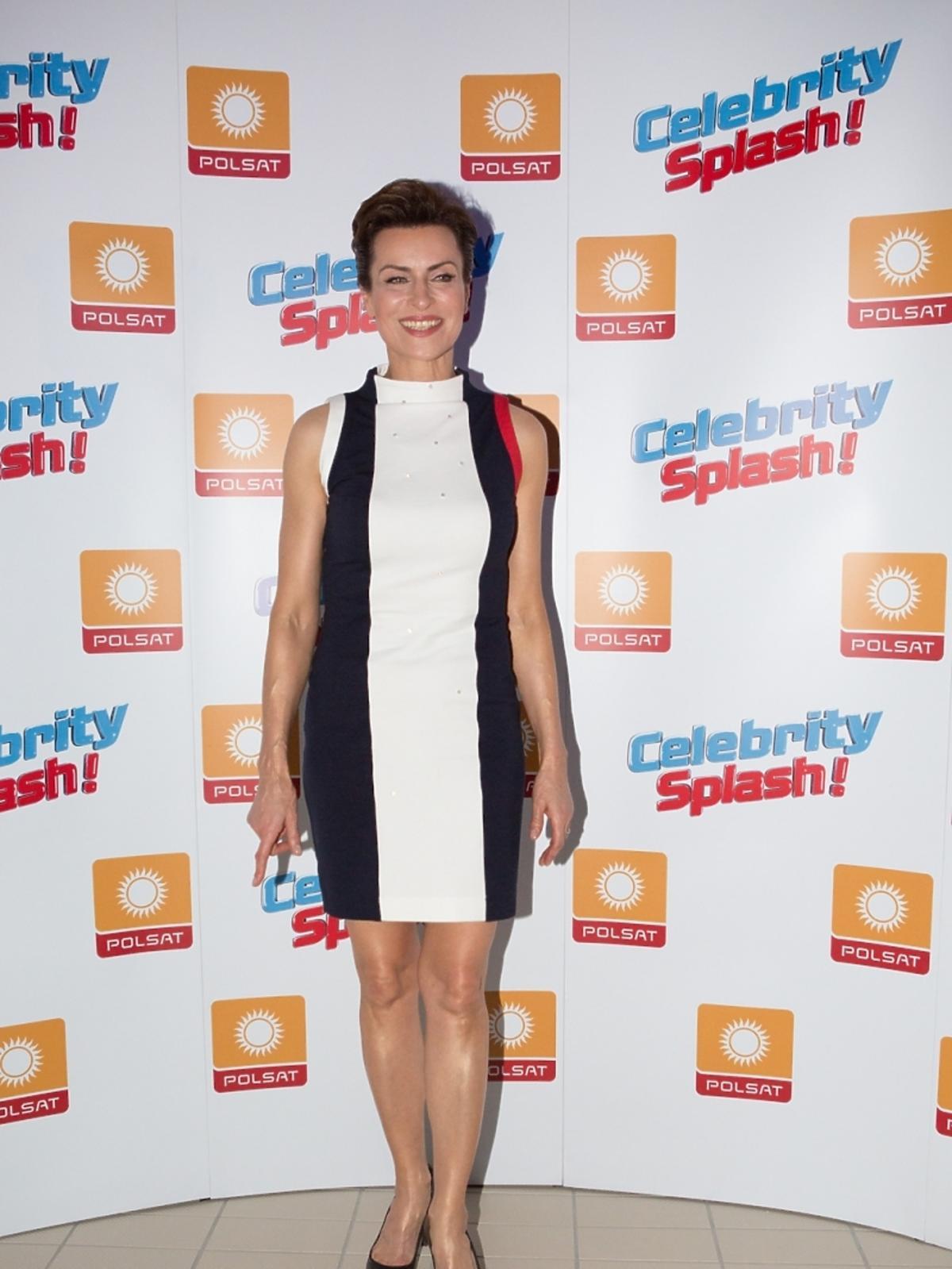 Danuta Stenka w pierwszym odcinku Celebrity Splash