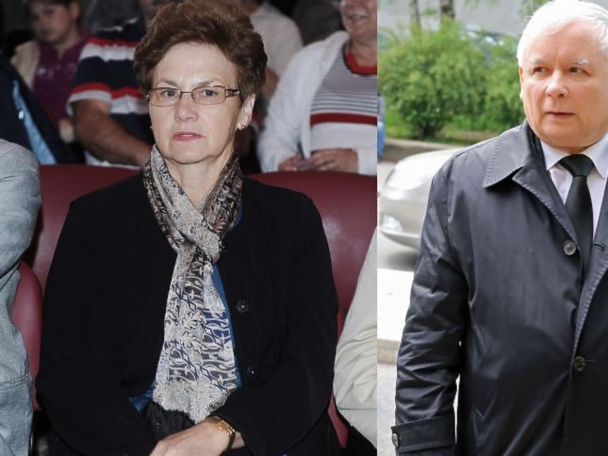 Danuta Wałęsa w okularach