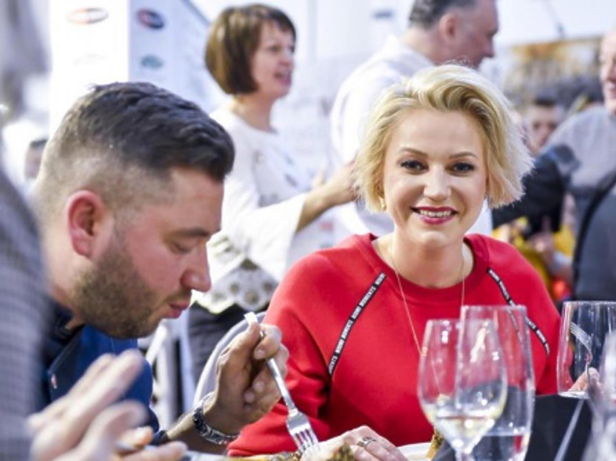 Daria Ładocha w kulinarnym konkursie
