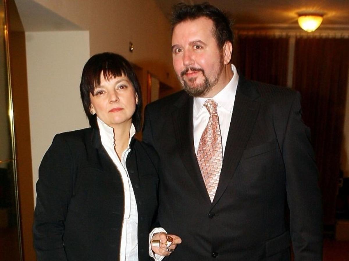 Dariusz Gnatowski z żoną