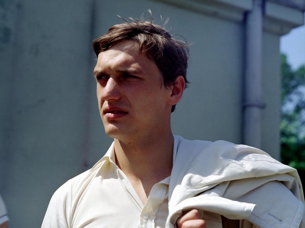 Dariusz Siatkowski na planie filmu
