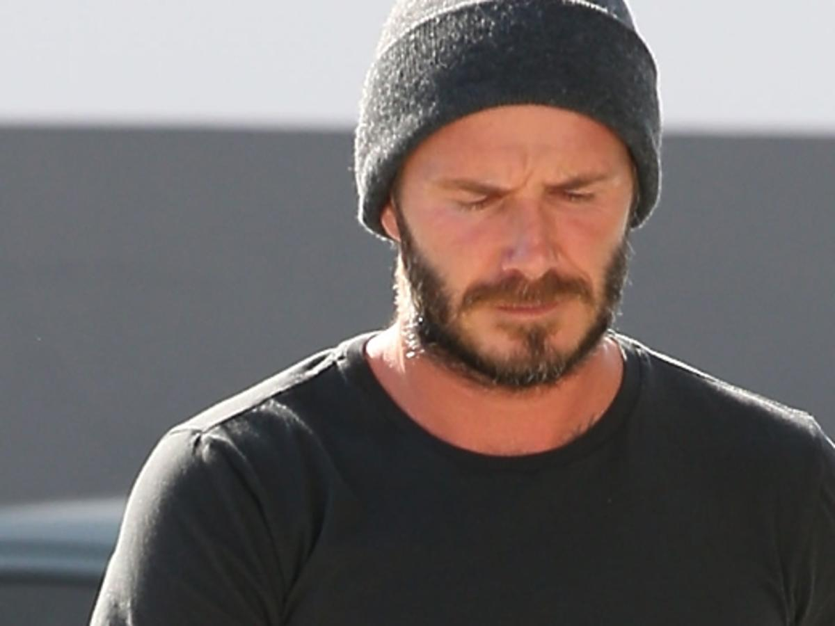 David Beckham pod obstrzałem mediów