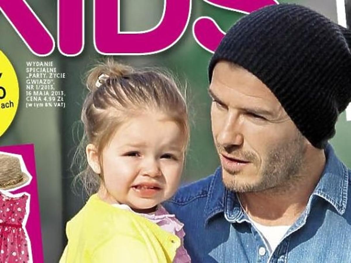 """David Beckham z córeczką na okładce """"Party Kids"""""""