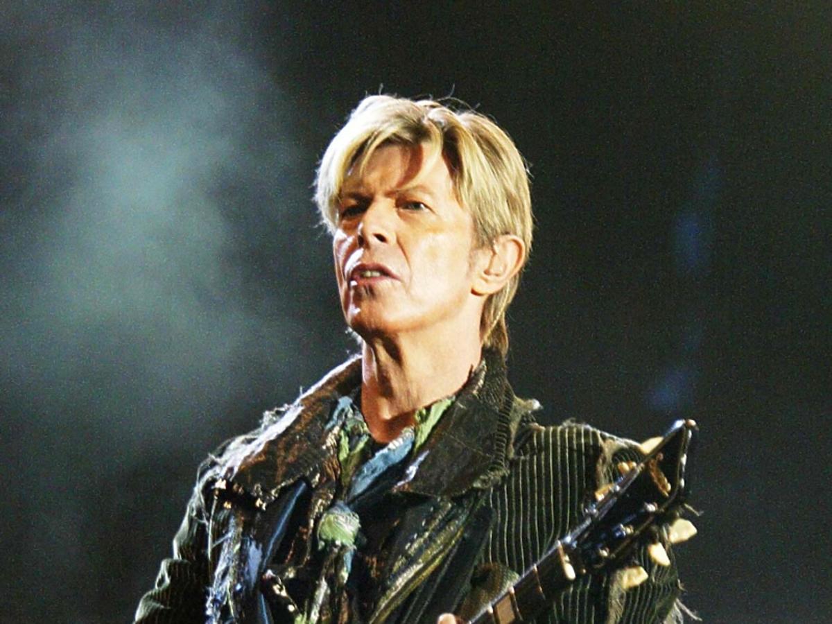 David Bowie na scenie