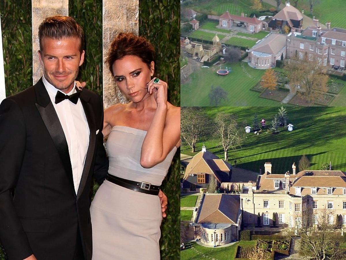 David i Victoria Beckham sprzedają swoją posiadłość