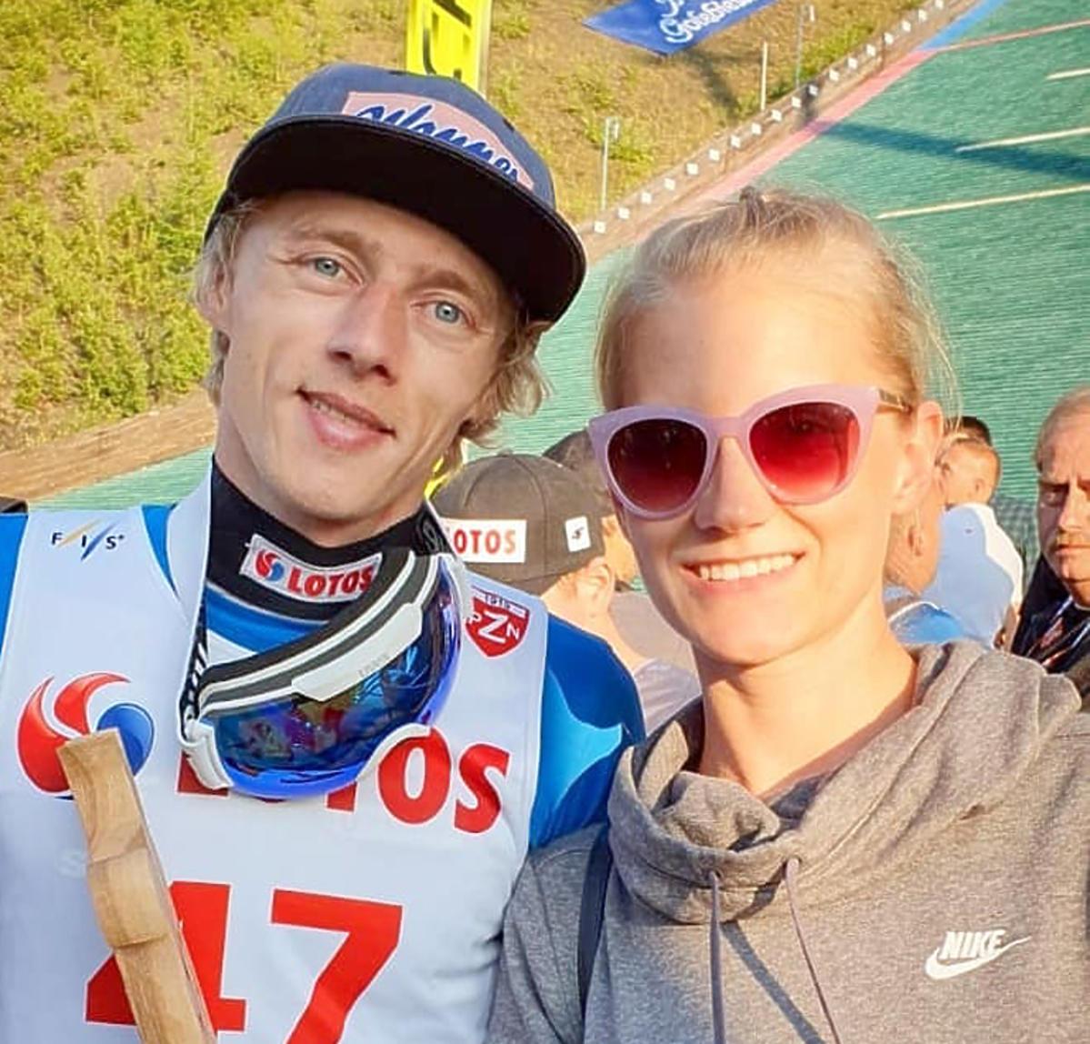 Dawid Kubacki i Marta Kubacka