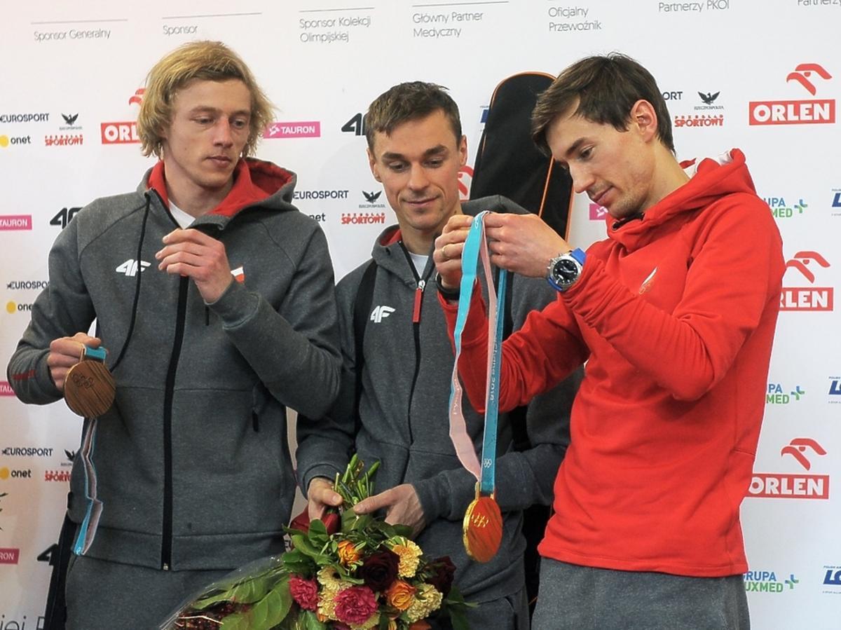 Dawid Kubacki, Piotr Żyła, Kamil Stoch