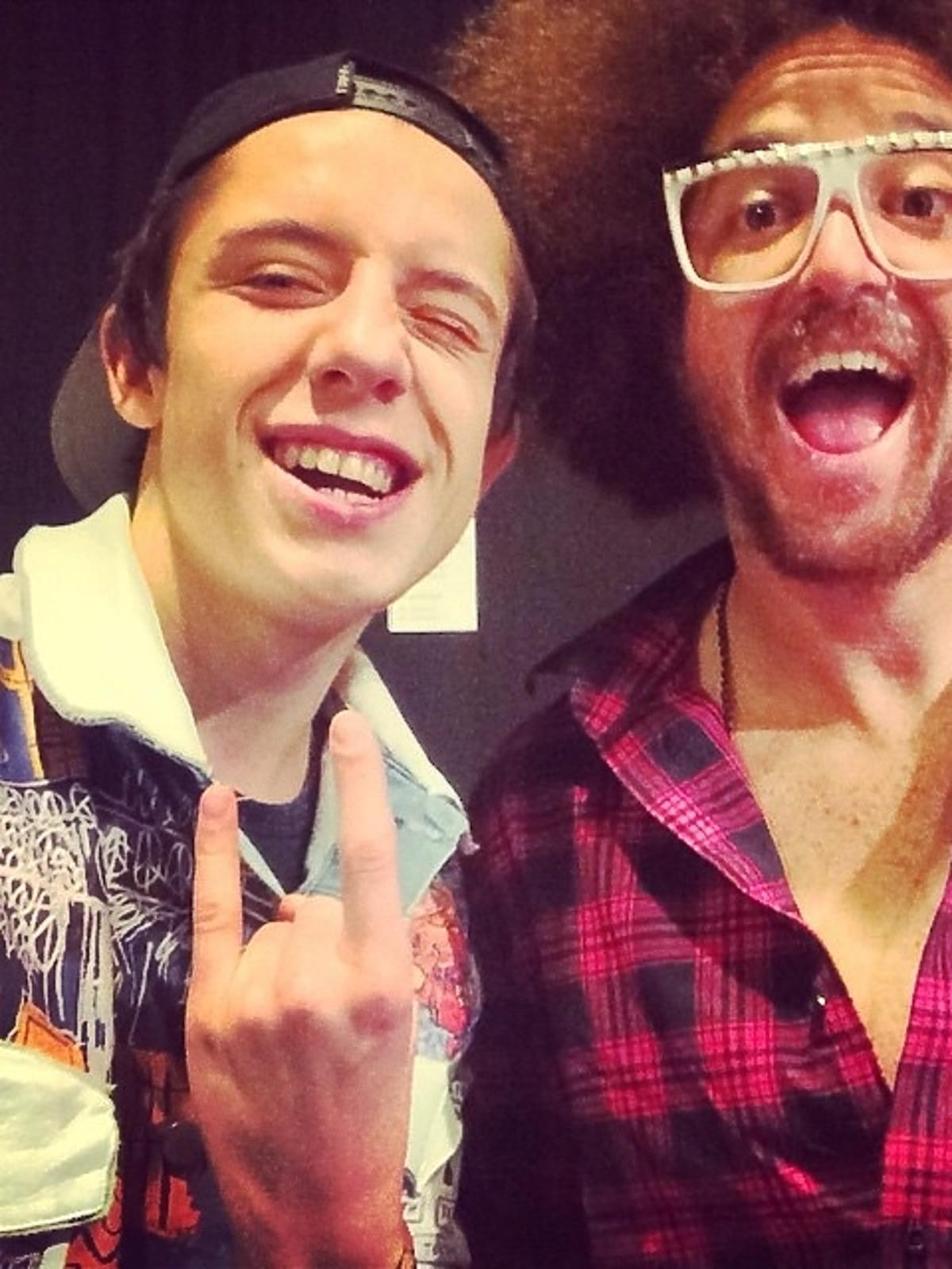 Dawid Kwiatkowski i Red Foo na MTV EMA 2014