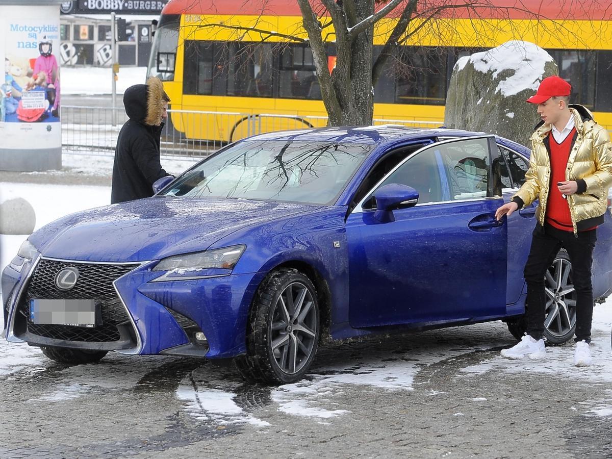 Dawid Kwiatkowski jeździ Lexusem