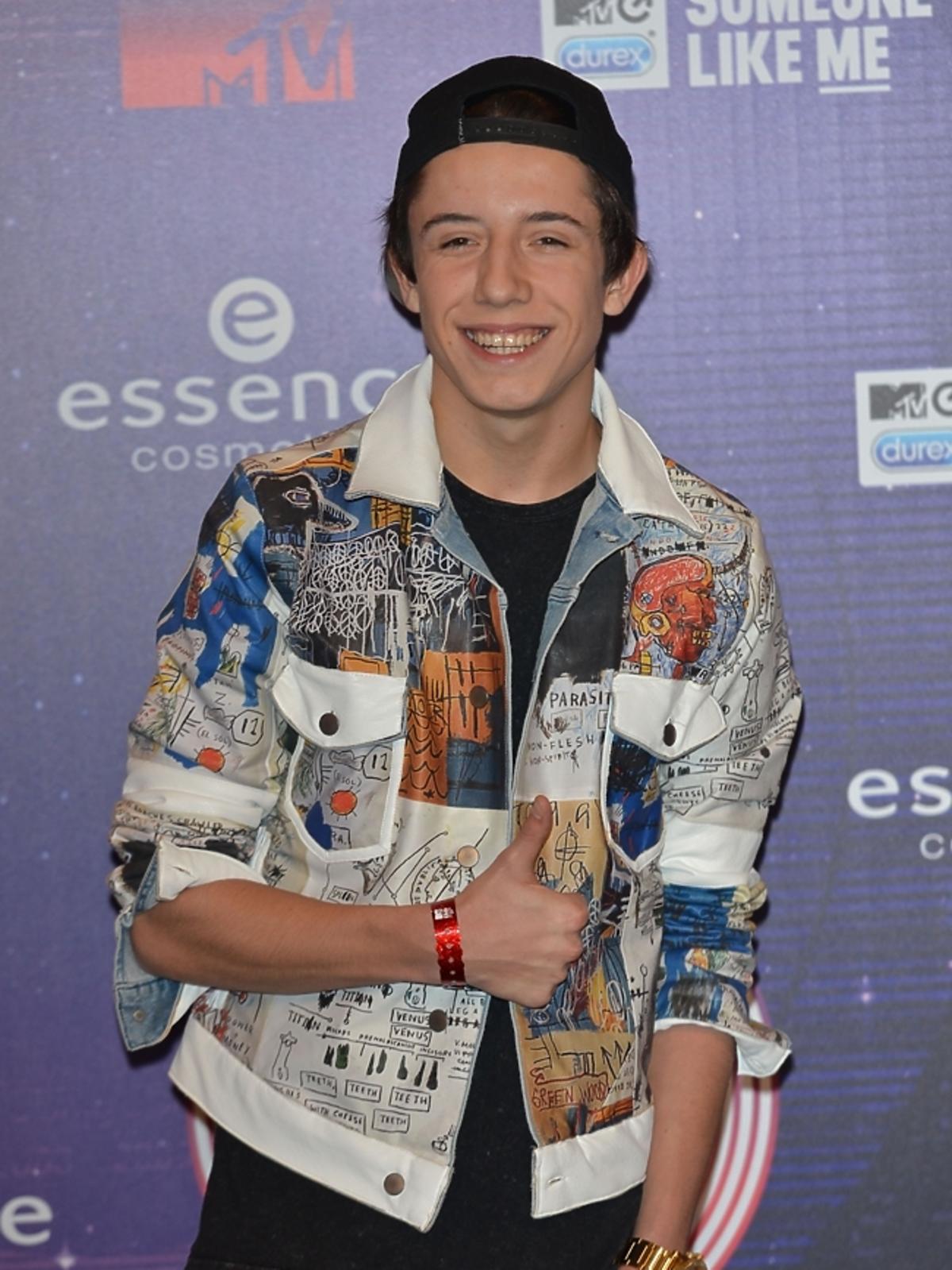 Dawid Kwiatkowski na MTV EMA 2014