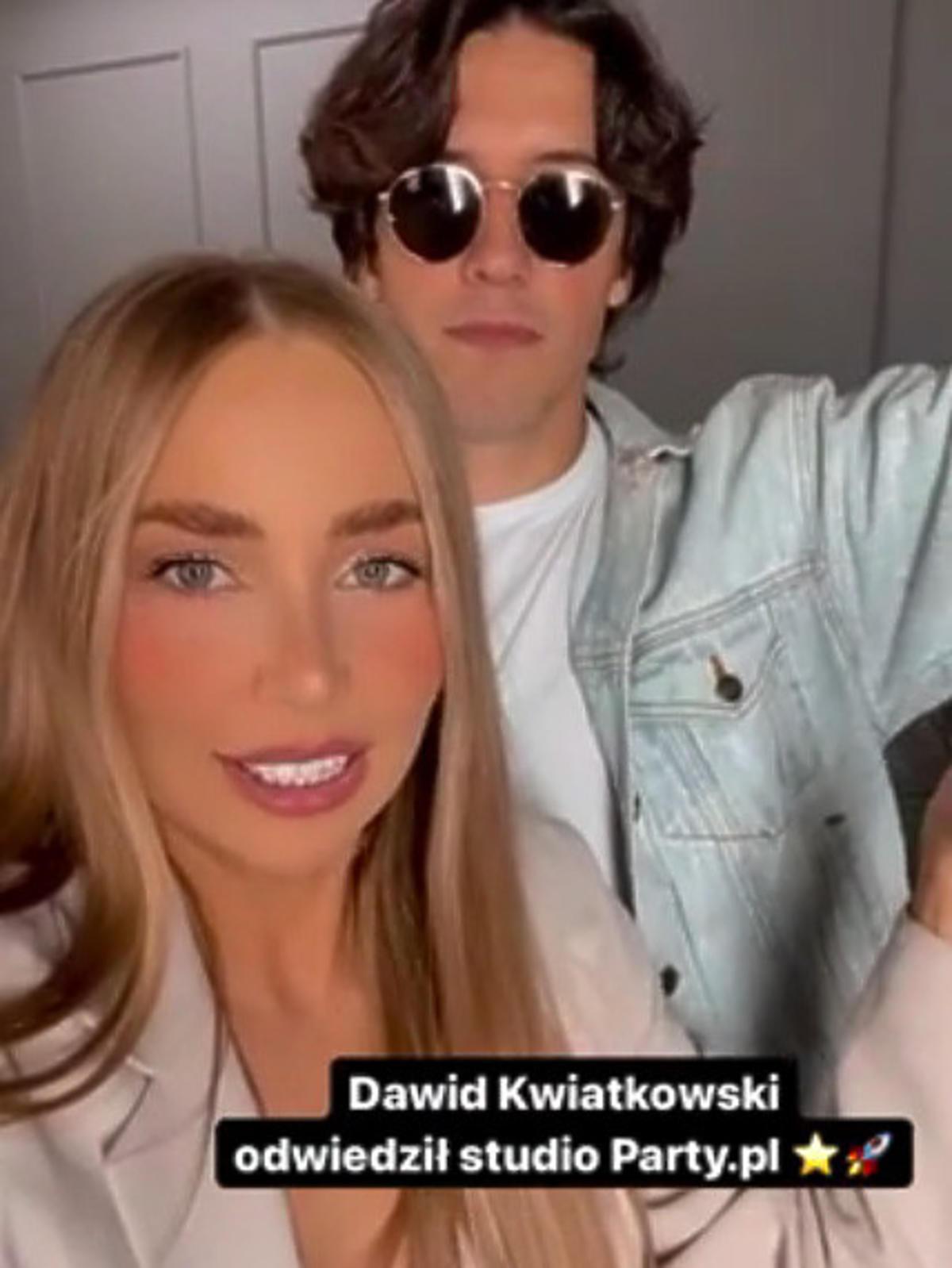 Dawid Kwiatkowski w redakcji Party.pl