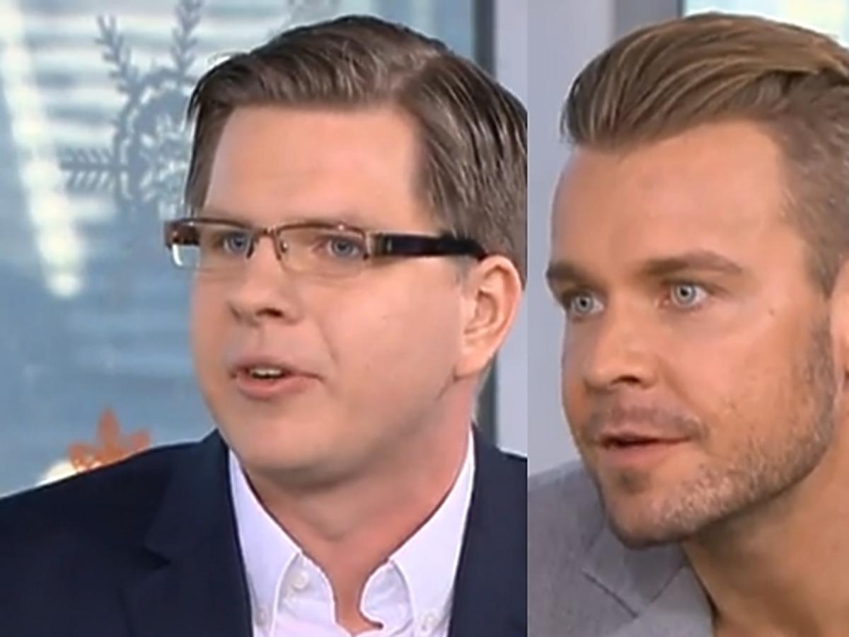 Dawid Woliński i Filip Chajzer w Dzień Dobry TVN