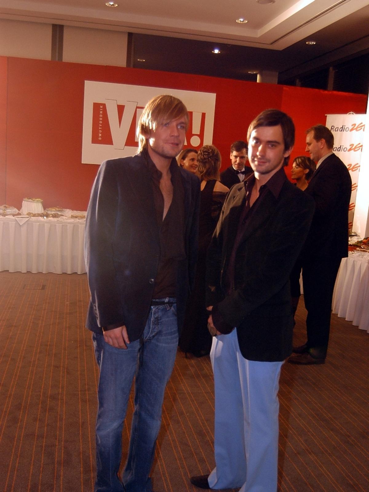 Dawid Woliński i Marcin Tyszka 10 lat temu